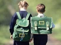 9школьники с рюкз